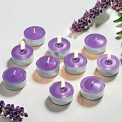 10 illatos teamécses - lila színben