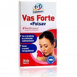 1x1 VAS FORTE+FOLSAV BIOPERINNEL 28+28DB, 56 db