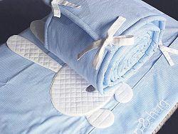 2-részes ágyneműhuzat szett sleep&hug - kék