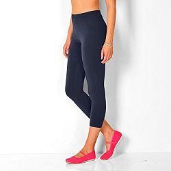 3/4-es leggings, 2 db-os szett - fehér+fekete - velikost 38/40