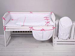 3-részes ágynemű szett MINI-MINI - rózsaszín