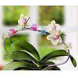 6 növényrögzítő csat  Pillangó