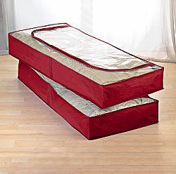 Ágy alatti tároló piros színben - piros