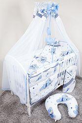 Ágynemű szett  - álmodozó - kék 120x90 cm