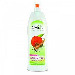 AlmaWin Öko kézi mosogatószer koncentrátum, homoktövis-mandarin, 1000 ml