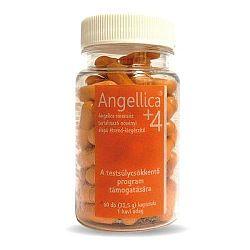 Angellica +4 növényi étrend-kiegészítő kapszula, 60 db