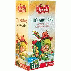 Apotheke bio gyermek tea Anti-cold Herbal, 20x1,5 g
