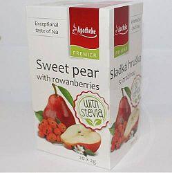Apotheke édeskörte-berkenye Steviával Gyümölcstea 40 g