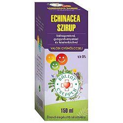 Bálint Echinacea Szirup Fokhagymával Gyógynövényekkel F. Rib 150 ml