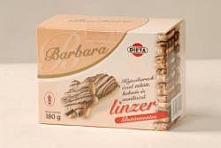 Barbara gluténmentes keksz, kajszis omlós 180 g