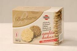 Barbara gluténmentes keksz, kakaós 180 g
