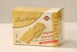 Barbara gluténmentes mézes teasütemény 200 g