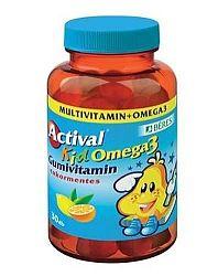 Béres actival kid omega-3 gumivitamin, 30 db