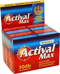 Béres Actival Max multivitamin, 30 db