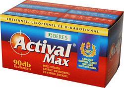 Béres Actival Max multivitamin, 90 db