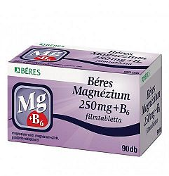 BÉRES MAGNÉZIUM 250 MG TABLETTA 50 DB
