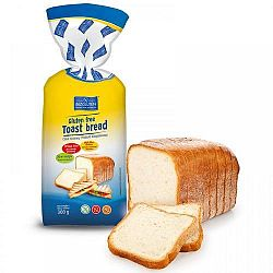 Bezgluten gluténmentes toast kenyér, 300 g