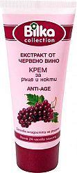 Bilka kézkrém öregedés ellen vörösszőlő kivonattal, 65 ml