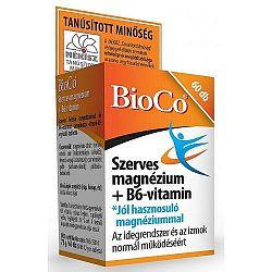 BioCo Szerves Magnézium+B6-vitamin, 60 db tabletta