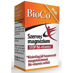BioCo Szerves Magnézium STOP B6, 60 db tabletta