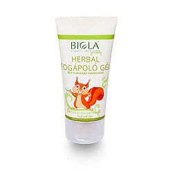 Biola Herbal fogápoló gél, 50 ml