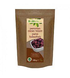 Biomenü Egész, nyers perui kakaóbab bio, 125 g