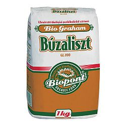 Biopont bio graham búzaliszt (GL 200), 1 kg