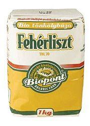 Biopont bio tönkölybúza fehérliszt (TBL 70), 1 kg