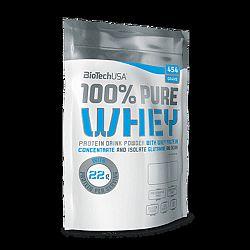 BioTech 100% Pure Whey, 454 g - Eper íz