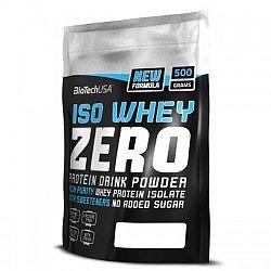 BioTech Iso Whey ZERO Lactose Free fehérje készítmény, epres ízesítés 500 g