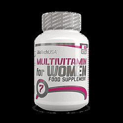 BioTech Multivitamin for Women női vitamin, 60 db
