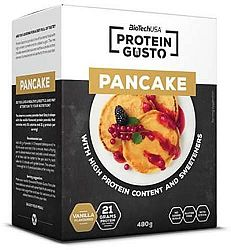 Biotech Protein Gusto Pancake, palacsintapor fehérjével, vaníliás, 480g