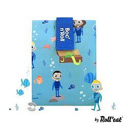 Boc'n'Roll KIDS kék szendvics csomagoló - Óceán