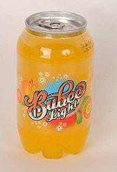 Bubee light szénsavas üdítő, narancs 330ml