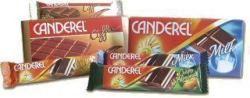Canderel Crispy csokoládé szelet, mandulás 27 g