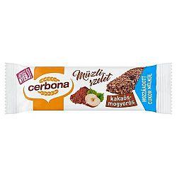 Cerbona müzliszelet csokis-mogyorós