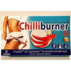Chilliburner zsírégető tabletta, 30 db