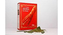 Classic henna test-és hajszínező por 200