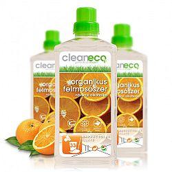 Cleaneco Organikus Felmosószer növényi alkohollal, narancsolaj illatú, 1000 ml