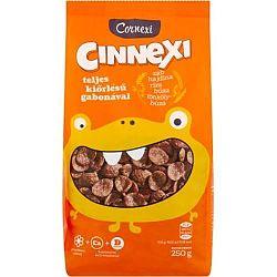 Cornexi Cinnexi Fahéjas Gabonapehely Teljeskiőrlésű Gabonáva 250 g