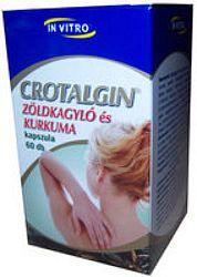 Crotalgin zöldkagyló és kurkuma ízületi kapszula 60 db