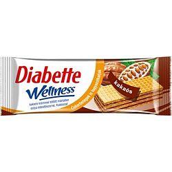 Diabette wellness kakaós ostya 26 g