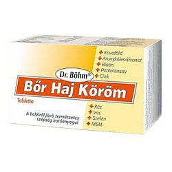Dr. Böhm Bőr Haj Köröm tabletta 60 db