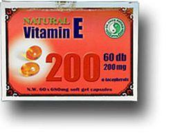 Dr. Chen Natúr E-vitamin kapszula 60 db