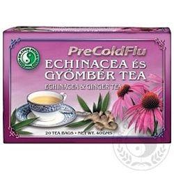 Dr. Chen PreColdFlu Echinacea és gyömbér tea, 20 filter