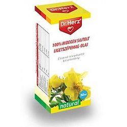 Dr. Herz 100% hidegen sajtolt ligetszépemag-olaj, 50 ml