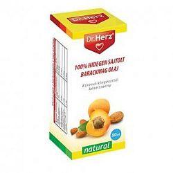 Dr. Herz hidegen sajtolt sárgabarackmag olaj, 50 ml