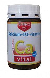 Dr. Herz Kalcium+D3-vitamin, 60 db