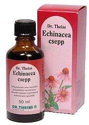 Dr. Theiss Echinacea csepp, 50 ml - Immunerősítésre