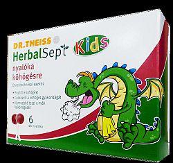 DR.THEISS HERBALSEPT KIDS NYALÓKA 6 DB